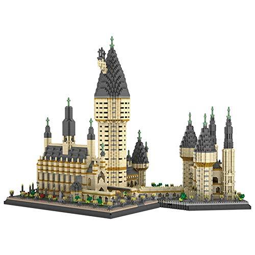 LYXCM De Bloques de construcción de Modelo de Castillo de Pascua, 7750 Piezas Kit de Ladrillos de Juguetes Modelo de Arquitectura | Juegos de Rompecabezas 3D para Regalo de Modelos