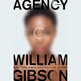 Agency audiobook cover art