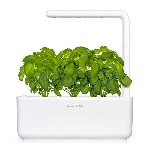 Click & Grow Smart Garden 3 Jardinera De Inter, Blanco, 30 X 10 X 28 Cm