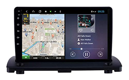 Für Volvo XC90 2004-2014 Navi Doppel-Din Auto-Stereo-Radio GPS-Navigation 9-Zoll-Touchscreen-Kopfeinheit Multimedia-Player Videoempfänger WiFi Bluetooth,8core,4+64