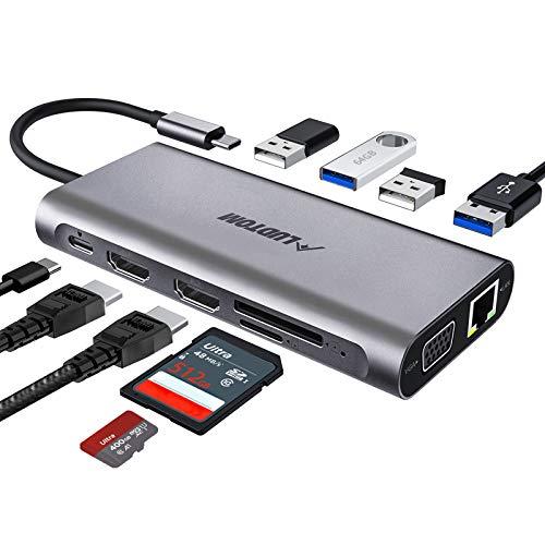 LUDTOM -  USB C Hub, Laptop