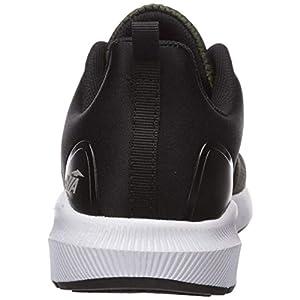 Avia Men's Avi-Split Sneaker, Grape Leaf/Black/Shocking Orange, 8.5 Medium US