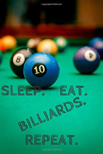 The Billiard Game!: Snooker Sport Notebook for Kids and Adults, Blank Journal for Drawing and Writing Diary, Daily (Sports Motivation)