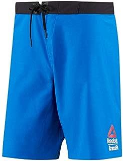 Reebok Crossfit Men's Blue 2017 Crossfit Games Super Nasty Speed Board Shorts
