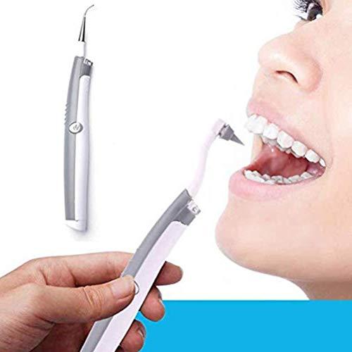 Tumnea Eliminador de sarro eléctrico, Limpiador Dental portátil, sarro, eliminación de sarro por vibración de Alta frecuencia para Dientes Blancos