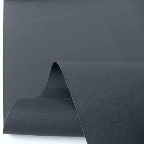 TOLKO Sonnenschutz Markisen-Stoffe als Meterware für Terrassen-Überdachung und Beschattung | mit UV-Schutz 50+ | Wasserdicht, Extra Langlebig - Ohne Ausbleichen - 120cm breit (Anthrazit)