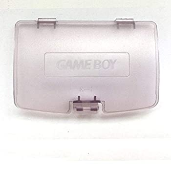 Replacement Battery Door Lid Cover Back Cover Case Shell for Game Boy Color GBC System  Clear Purple