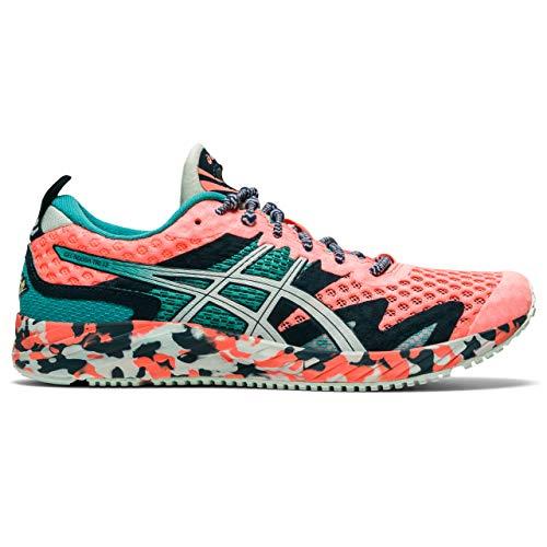 ASICS Womens Gel-Noosa TRI 12 Running Shoe, Sun Coral/Bio Mint