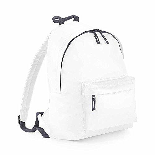 Bag base - Sac à dos école loisirs - BG125 - blanc - 18L - mixte homme / femme