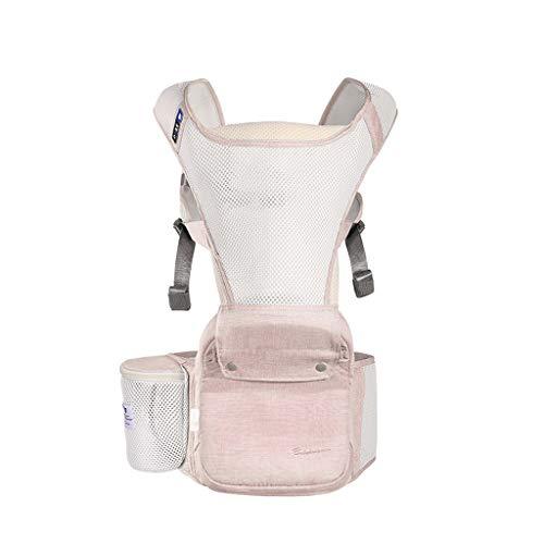 Porte-bébé Confort Scientifique Siège bébé Taille Ajustable Maille Respirante pour l'été ( Color : A )