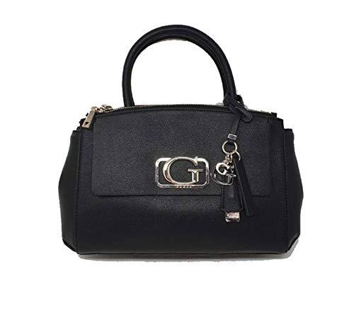 Guess Niven handtas van kunstleer kleur zwart VG767306