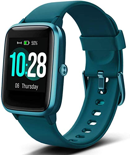 Fitpolo Fitness Tracker, Smart Watch Step Trackers with Heart Rate Monitor, IP68 Waterproof 1.3 Inch Color Touch Screen Activity Tracker Sleep Monitoring, Calorie Counter, Pedometer for Men Women