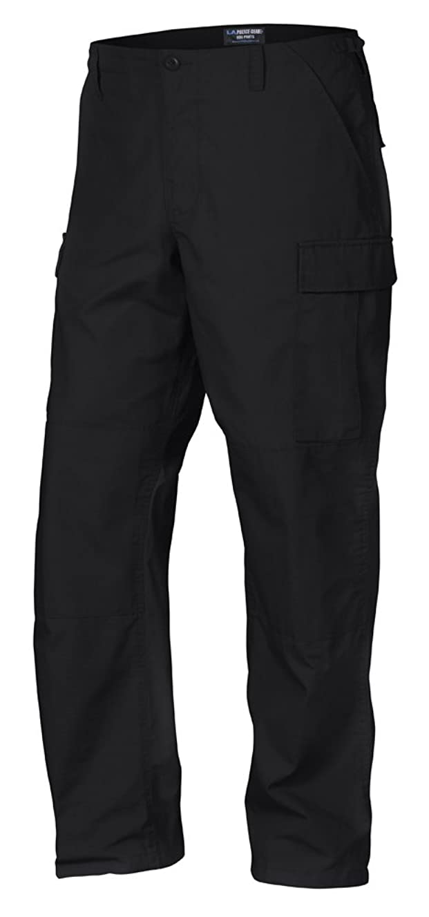 LA Police Gear Men Rip-Stop Mil-Spec BDU Button Fly Tactical Pant
