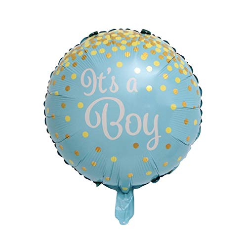 Best Prices! Xucus 50pcs Round Angel Baby Girls Balloon Baby Shower Baby Stroller foil Ballon Baby T...
