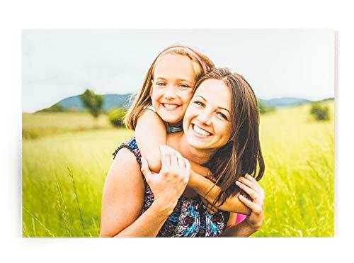 fotokasten Foto auf Alu-Dibond 20x30 cm - mit eigenem Bild - Verschiedene Größen - Dein eigenes Foto als hochwertiges Wandbild - inkl. Aufhängung - Druckverfahren Direktdruck
