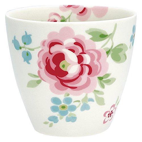 GreenGate STWLATMER0106 Meryl Latte Cup Weiss 9 cm