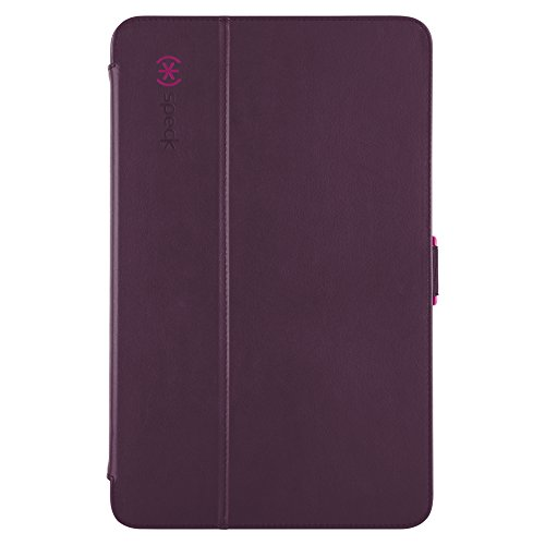 Speck Products StyleFolio Case and Stand for Samsung Galaxy Tab A 10.1, Syrah Purple/Magenta Pink (87401-5748)