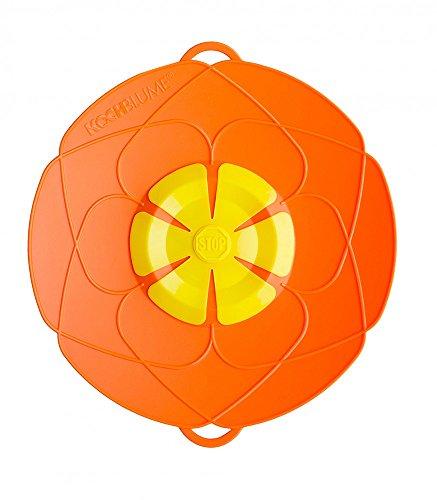 Kochblume Überkochschutz orange klein - Ø 25,5 cm