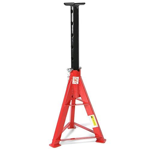 JJ® Unterstellbock 16.000 kg Höhenverstellbar 670-1.020 mm Schwerlast Stütz-Bock