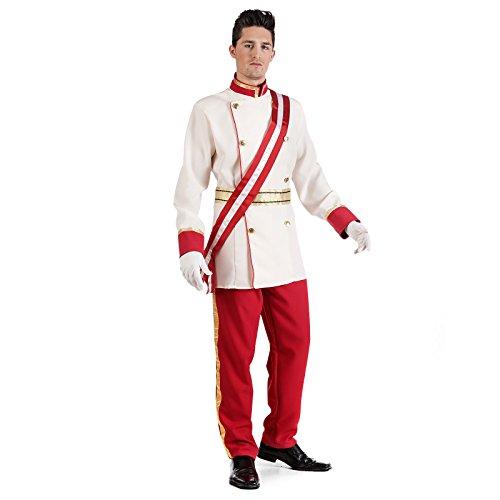 Elbenwald Kaiser Franz Josef Kostüm Historische Fest Uniform Herren weiß rot - M