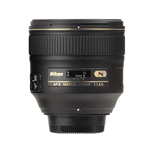 Nikon AF-S FX NIKKOR 85mm f/1.4G Lens with Auto...