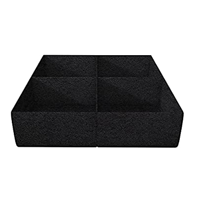 Amazon - 40% Off on  Square Raised Garden Bed, Divided 4 Grids Fabric Raised Planting Bed