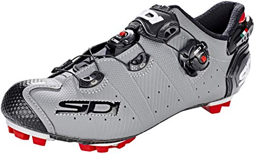 Sidi 69076VAR - Zapatillas Ciclismo Bicicleta MTB Drako 2 Color Gris/Negro Talla...