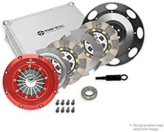 Skyline RB20 / RB26 / RB30 Clutch M921245 Mantic Track Kit with Aluminium Cover Assembly   Twin Cerametallic Clutch Plates   Release bearing   Solid Flywheel with Bolt Kit   Align Tool