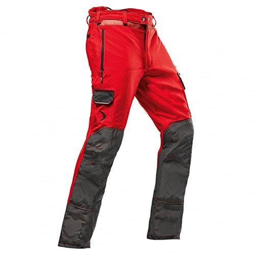 Pfanner leichte Schnittschutzhose zur Baumpflege Klasse 1, Farbe:rot, Größe:S