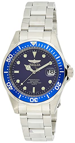 Invicta Pro Diver Orologio Quarzo, 37.5mm, Blu, 9204