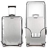 True Face Funda transparente para maleta, protector de equipaje de viaje, bolsa de PVC, tamaños 17''18''20''22''
