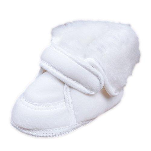 Babyschuhe Winterschuhe Krabbelschuhe Taufschuhe Nicki weiß Modell 015/75 (20(12-15 M.))