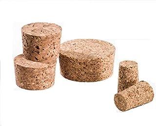 Lot de 10 bouchons de 30 x 25 mm - Hauteur : 35 mm - En liège pressé - Idéal pour les fûts à vin, les tonneaux de moût, le...