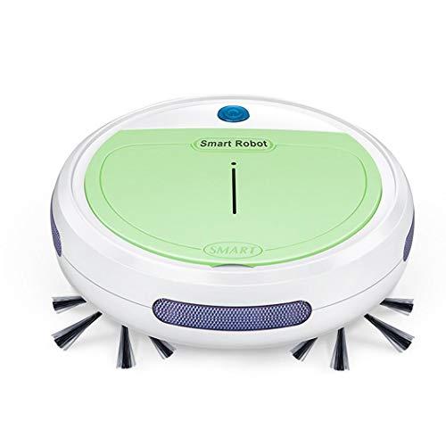 FastDirect - Spazzatrice automatica per aspirapolvere a pavimento con robot, Verde, large