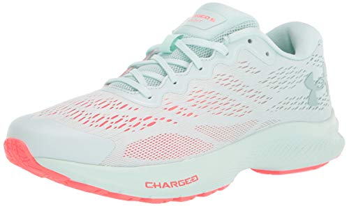 Under Armour Women's Charged Bandit 6 Running Shoe, Seaglass Blue (400)/Seaglass Blue, 9.5
