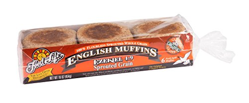 Food For Life Baking Organic Ezekiel 4:9 - Sprouted Grain English Muffin, 16 Ounce -- 6 per case.