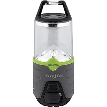 Nite Ize N03876-BRK Radiant Recharge Lantern, 300 Lumen