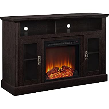 Ameriwood Home Chicago Electric Fireplace TV Console for TVs up to a 50 , Espresso