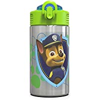 Zak Designs Paw Patrol 15.5oz Stainless Steel Kids Water Bottle
