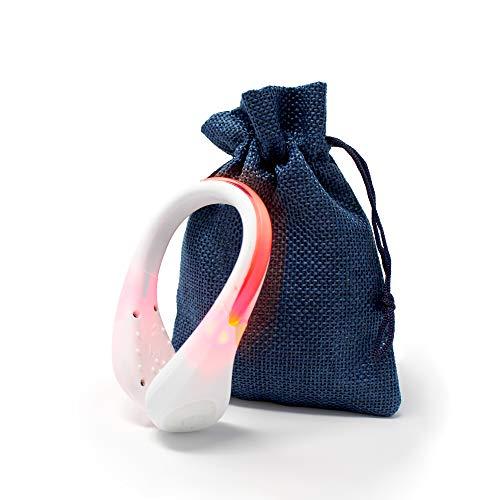 Kuikit -Clips für Schuhe zur Verwendung auf Elektro-Scooter - Geeignet für neue Normen - Fahrrad - Wandern - Shoe Clips mit Licht - Wandern - Nachtwandern (2 x weiß)