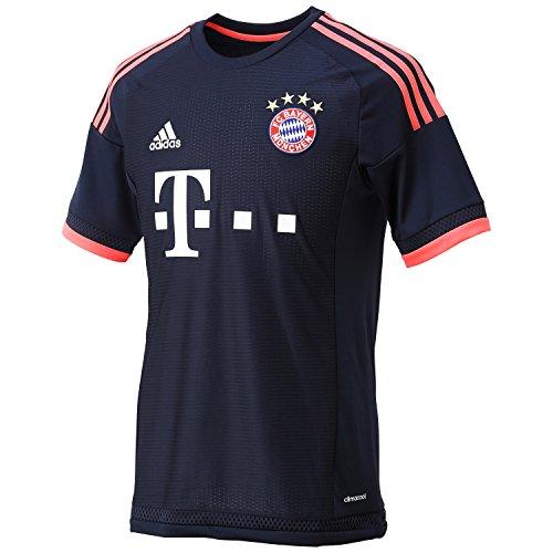 adidas Herren Trikot FC Bayern München UCL Replica Fußballtrikot, Night Navy/Flash Red, S