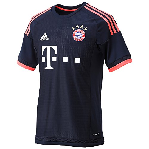adidas Herren Trikot FC Bayern München UCL Replica Fußballtrikot, Night Navy/Flash Red, XL