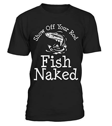 Fish-Naked-Anglers-T-Shirt-Bass-Fishing-Shirts-Ideas-of-Bass-Fishing-ShirtsbassfishingbassfishFish-N Black