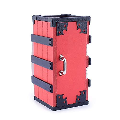 QIDUDZ 1/5 Kamado Tanjirou Caja Trasera Mini Llavero Modelo Colección Prop Personalizado Juguetes Decoraciones Artesanías Regalos