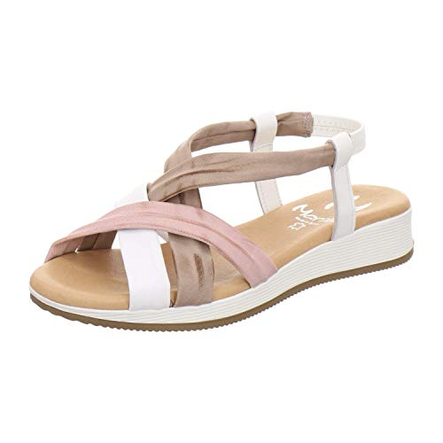 Marila Sandale Damen 1300 Größe 36 EU Mehrfarbig (Multicolor)