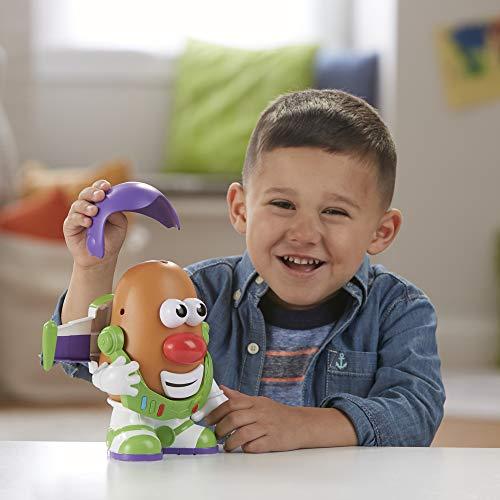 Hasbro Playskool - Toy Story 4 Mr. Potato Buzz Lightyear Personaggio Ispirato al Film, Multicolore, E3728ES0