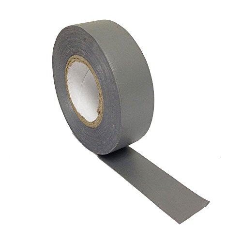 Gocableties-PVC-Isolierband, 20 m x 19 mm, hohe Qualität, grau