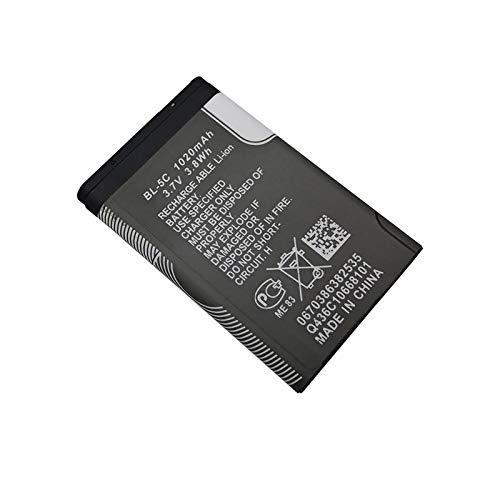1 Piezas 1020mAh BL-5C BL5C BL 5C batería para 6230 6330 6263 6267 6270 6555 6600 6630 6670 6680 6681 6682 6820 (1 Piezas)