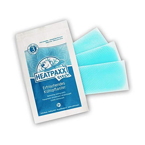 HeatPaxx Fresh - Kühlpflaster mit Menthol 3 Stück - Pflaster zur Abkühlung