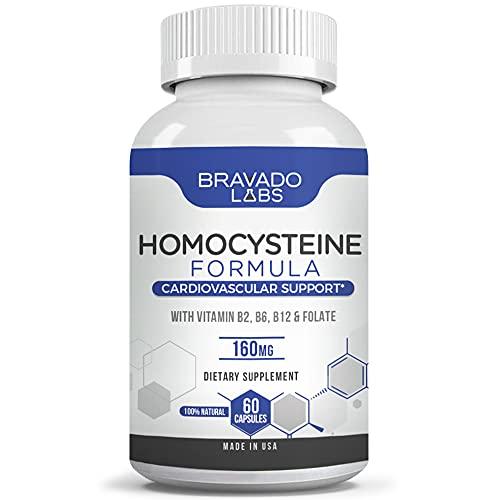 Premium Homocysteine Supreme - Bravado Labs Vitamin B Complex -...